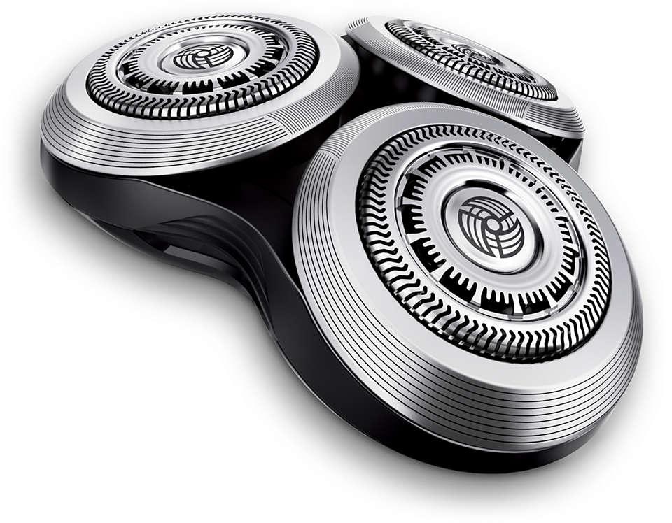 Neu Ersatzscherkopf für 3D Scherkopf Rasierklingen Köpfe Philips RQ10
