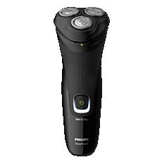 S1223/41 Shaver 1200 آلة حلاقة كهربائية للاستخدام الرطب أو الجاف