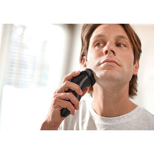 Shaver series 1000 Elektrisch apparaat voor droog scheren