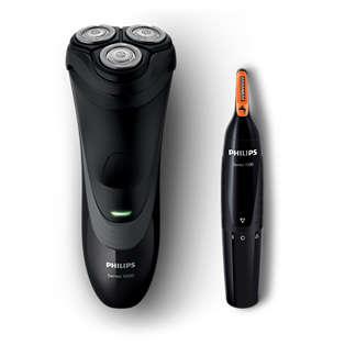 Shaver series 1000 Tørr elektrisk barbermaskin