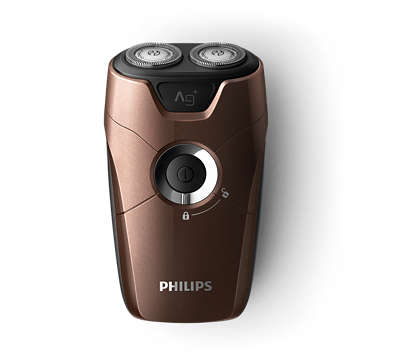 For a close and convenient on-the-go shave