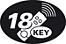 18-key remote control