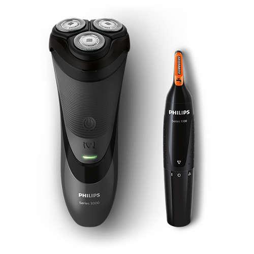 Shaver series 3000 Afeitadora eléctrica en seco