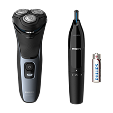 S3133/57 Shaver series 3000 Wet or Dry electric shaver, Series 3000