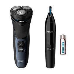 Shaver series 3000 Elektr. Nass- und Trockenrasierer Series3000