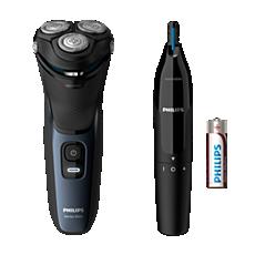 S3134/57 Shaver series 3000 Rasoio elettrico Wet & Dry, Serie 3000