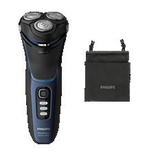 S3222/52 Shaver 3100 Barbeador elétrico seco ou molhado
