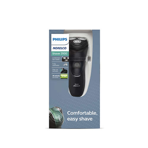 Norelco Shaver 3100 Dry electric shaver, Series 3000