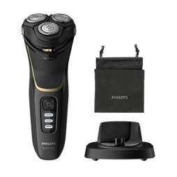 Wet or Dry electric shaver, Series 3000