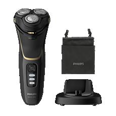 S3333/54 Shaver series 3000 Rasoir électrique peau sèche ou humide, série 3000