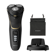 S3333/54 Shaver series 3000 מכונת גילוח חשמלית לשימוש רטוב או יבש, סדרה 3000