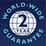 2 year worldwide guarantee