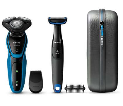 Υγρό ή στεγνό ξύρισμα με προστασία