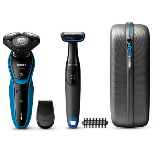 Comprar Afeitadora eléctrica en seco y húmedo S5050 64 online ... 23643afcfb29