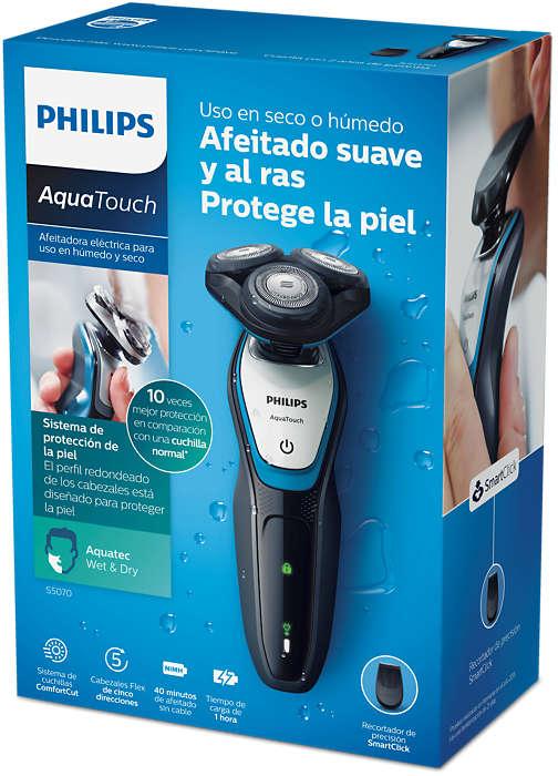 AquaTouch Afeitadora eléctrica para uso en seco y húmedo S5070 02 ... 3a99c17f8e05
