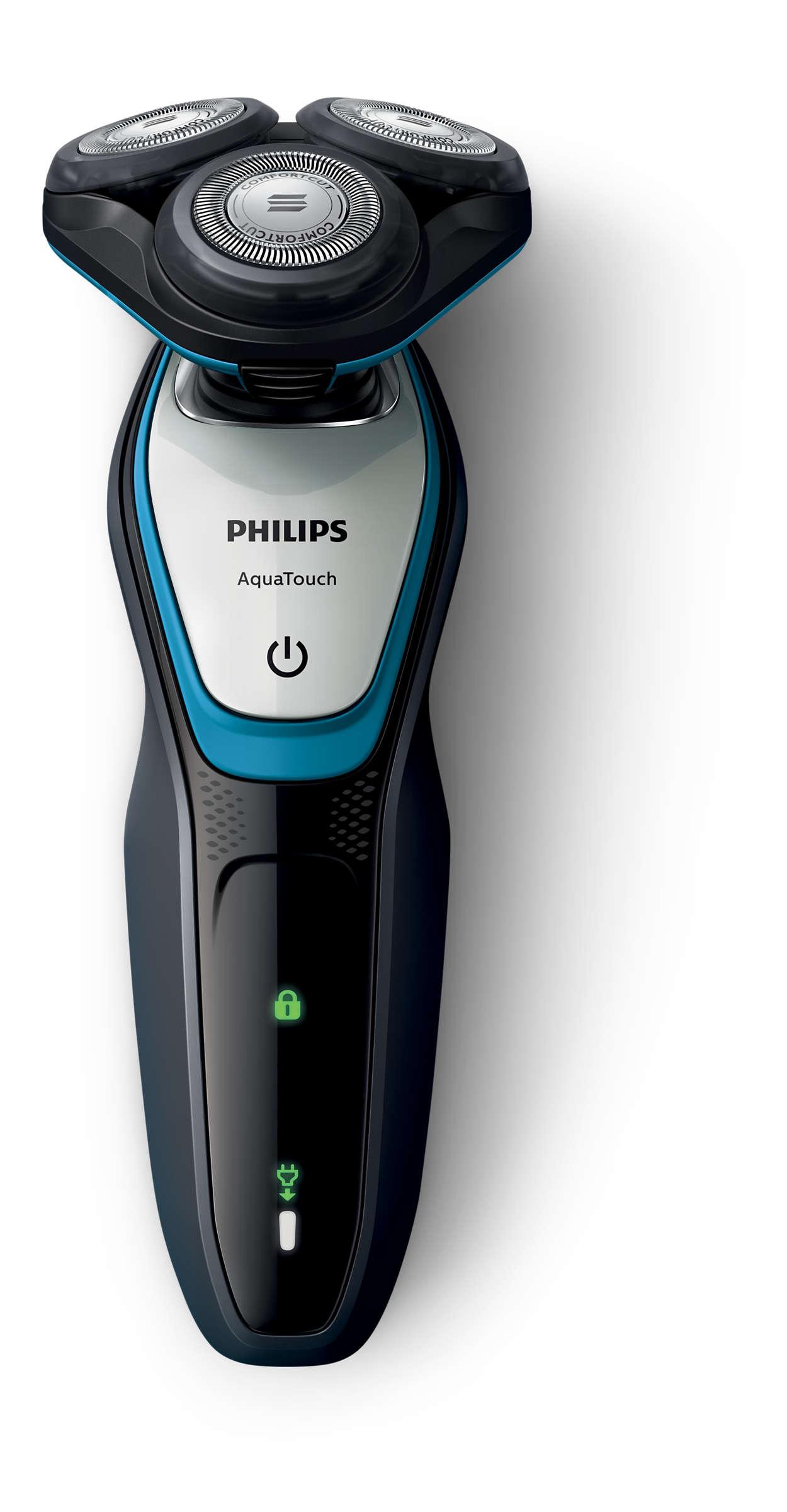 AquaTouch Afeitadora eléctrica para uso en seco y húmedo S5070 04 ... d3eb0a0c82a2