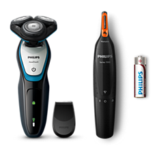 S5070/48 -   AquaTouch Wet and dry electric shaver