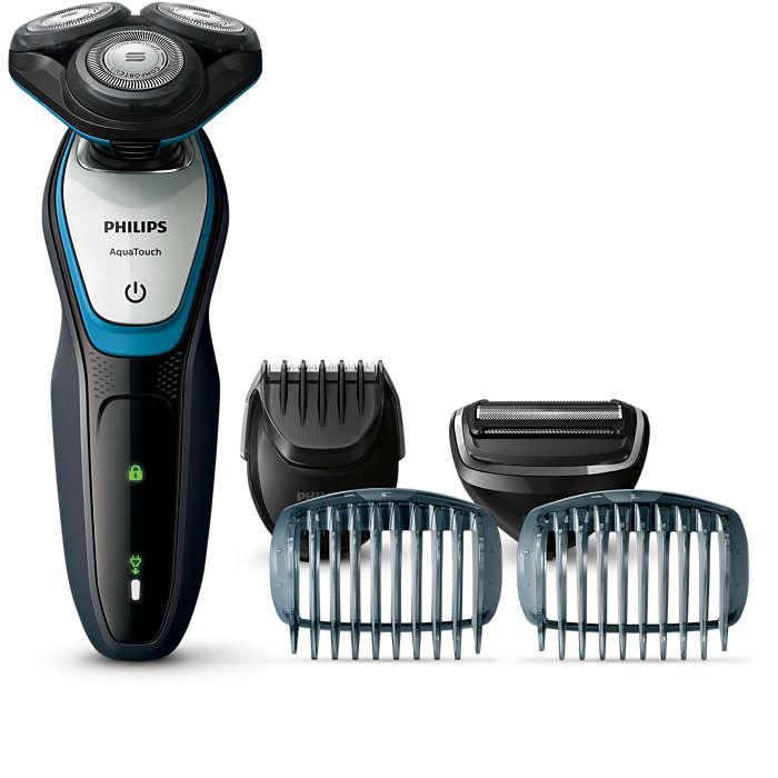Afeitada, modelado y cuidado corporal en una herramienta