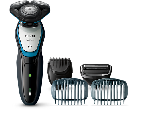 AquaTouch Afeitadora eléctrica para uso en seco y húmedo S5070 59 ... 2be1d4a22139