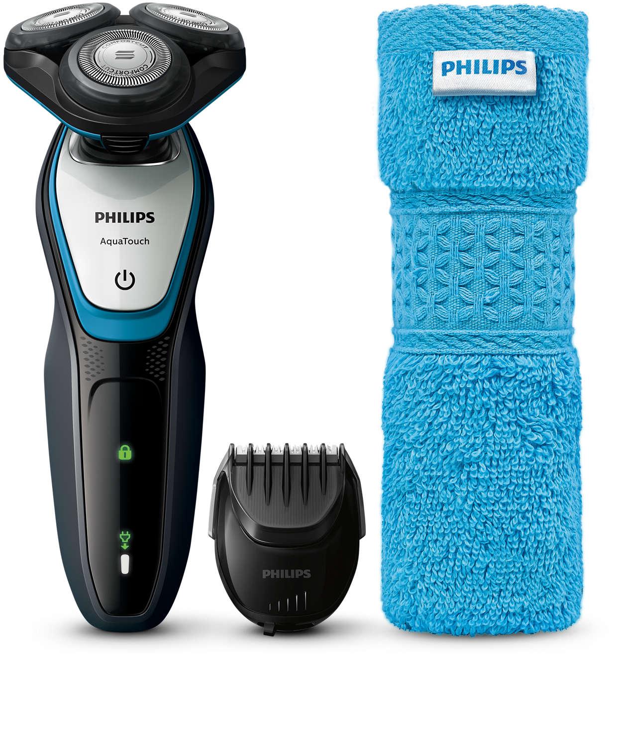 A húmido ou a seco, barbear suave