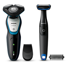 S5070/92 -   AquaTouch Wet and dry electric shaver