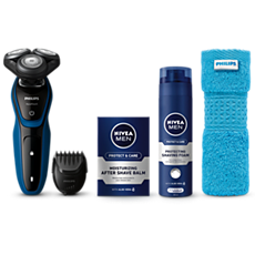 S5073/62 -   AquaTouch Wet and dry electric shaver