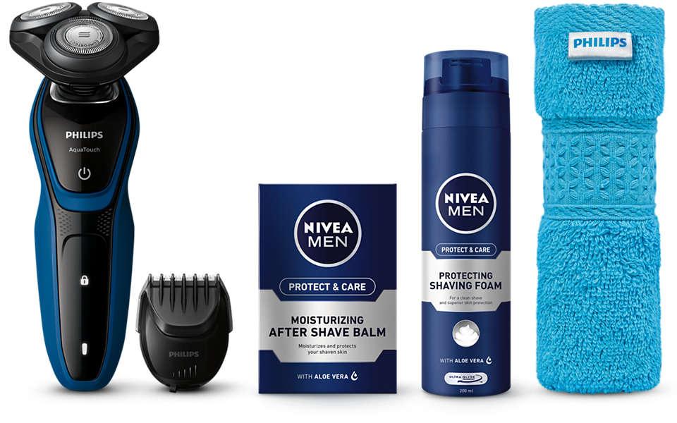Barbear e cuidados do rosto