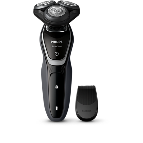<b>Shaver Series 5000</b><br/>Faster shave, unbeatable comfort