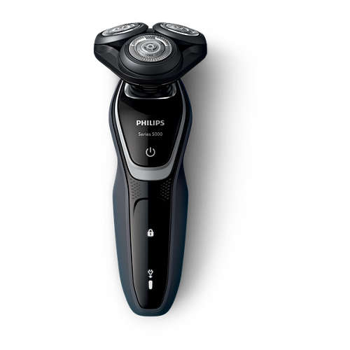 Shaver series 5000 wet & dry electric shaver with precision trimmer