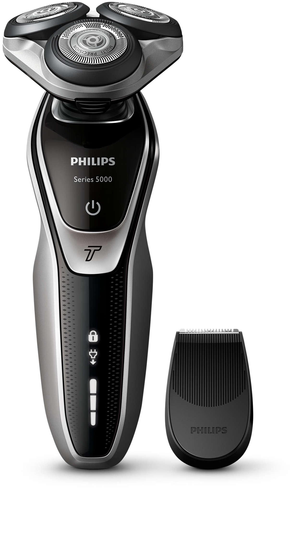 湿剃或干剃,保护式剃须
