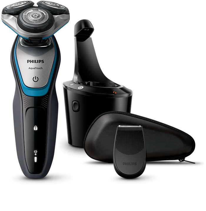 Series 5000 Aqua Touch. Bezpieczne golenie na mokro i sucho.