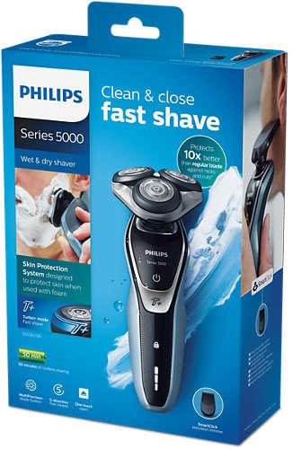 Dokładne, precyzyjne i szybkie golenie