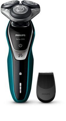 PHILIPS Shaver series 5000 Sähköparranajokone märkä- ja kuiva-ajoon S5550/06