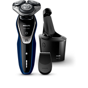 Shaver series 5000 wet and dry electric shaver with SmartClean