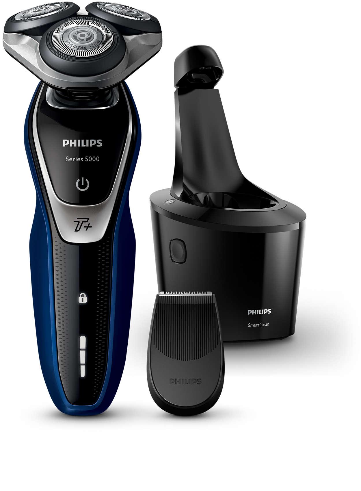 Shaver series 5000 El. holiaci strojček na holenie namokro aj ... 87008036f5d