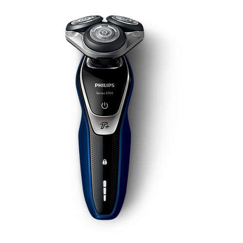 Shaver series 5000 Sähköparranajokone märkä- ja kuiva-ajoon