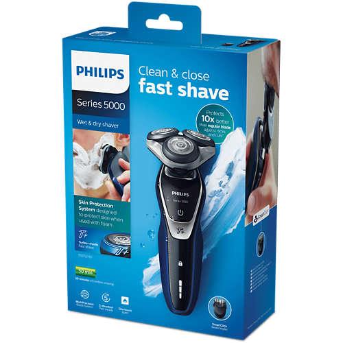 Shaver series 5000 Våd og tør elektrisk shaver