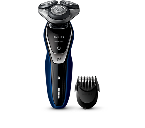 shaver series 5000 wet dry electric shaver with beard. Black Bedroom Furniture Sets. Home Design Ideas