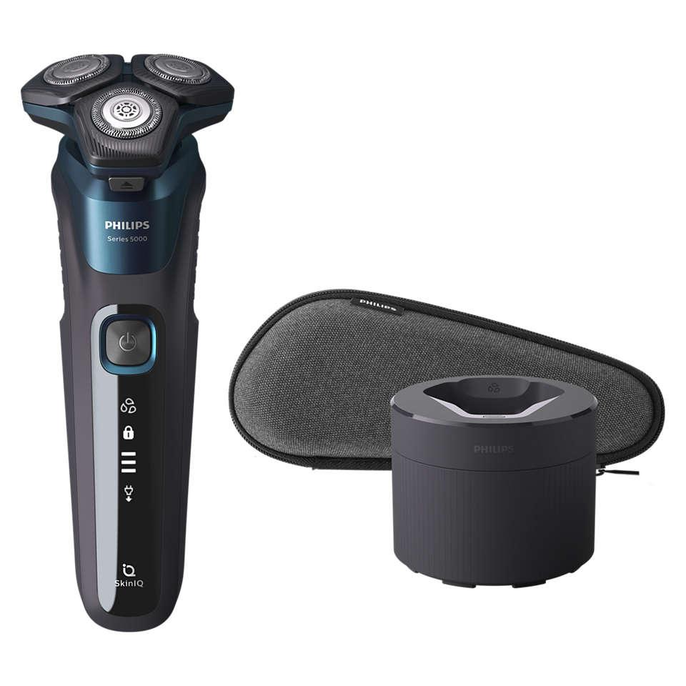 Leistungsstarke Rasur, sanft zur Haut