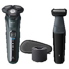 S5584/57 Shaver series 5000 Elektrisch scheerapparaat voor nat en droog scheren