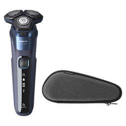 Shaver series 5000 Електрическа самобръсначка за мокро и сухо бръснене