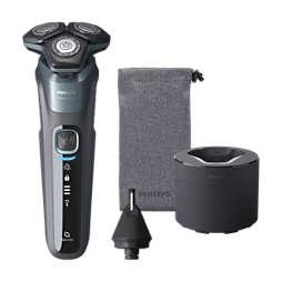Shaver series 5000 Máquina de barbear elétrica a húmido/seco