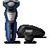 AquaTouch Ηλεκτρική μηχανή για υγρό και στεγνό ξύρισμα