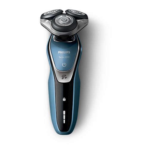 Shaver series 5000 Våt og tørr elektrisk barbermaskin