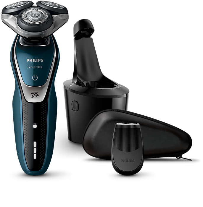 Sauber und gründlich, schnelle Rasur