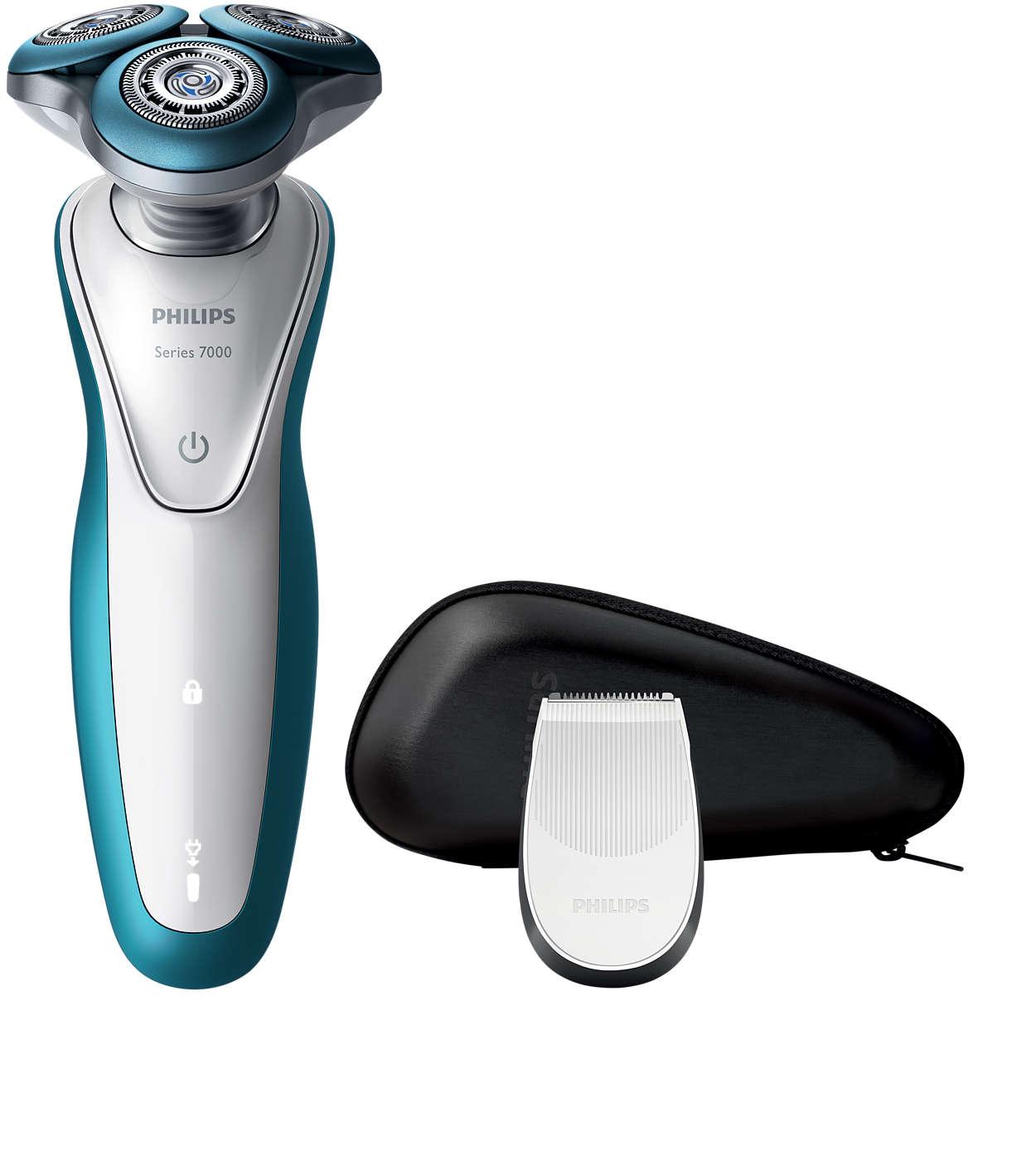 Shaver series 7000 Afeitadora eléctrica para uso en seco y húmedo ... 9b517494bebb