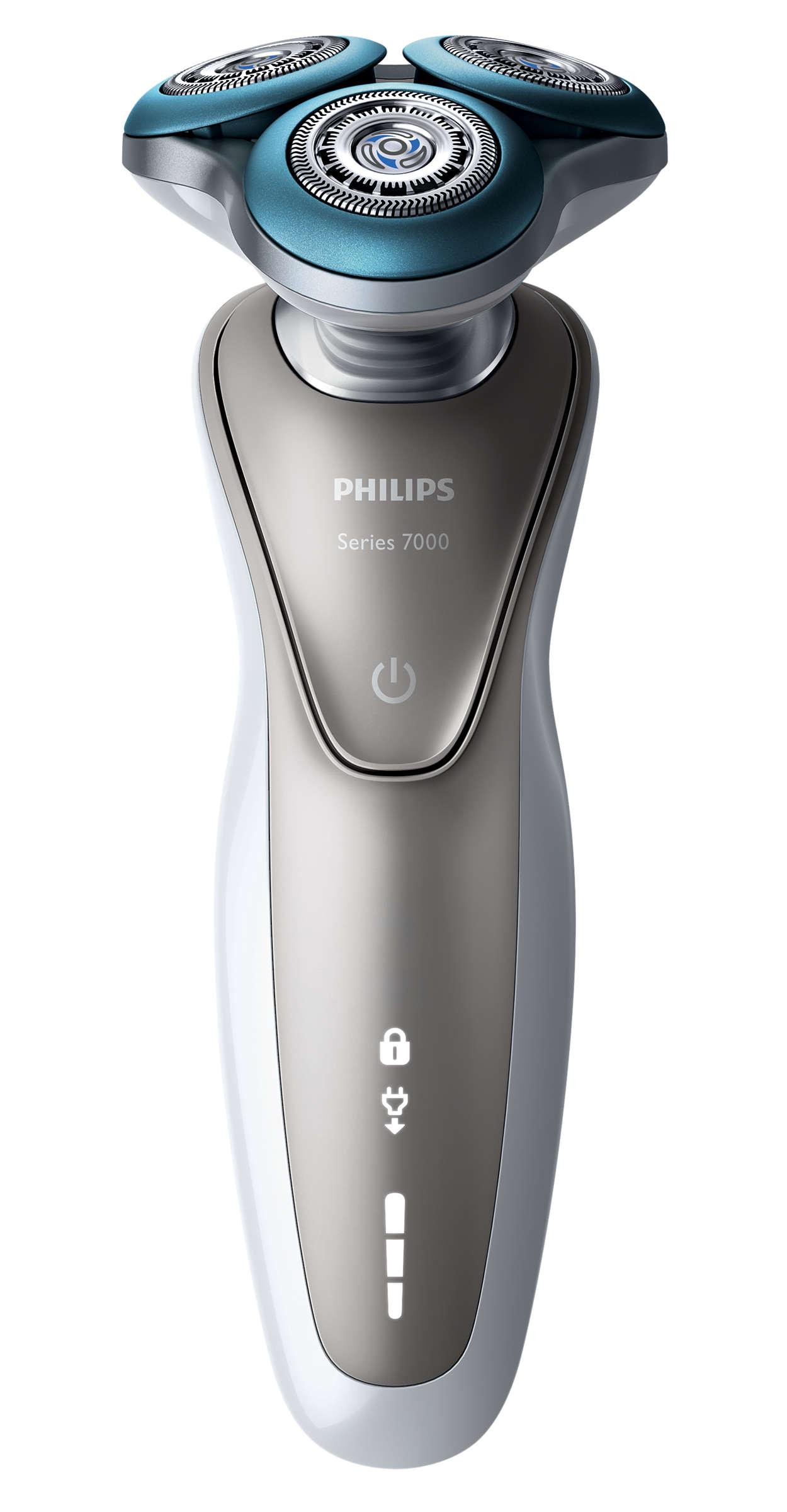 Shaver series 7000 Afeitadora eléctrica en seco y húmedo S7510 41 ... 13d12f0d2649