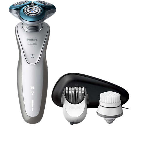 Shaver series 7000 Afeitadora eléctrica en seco y húmedo