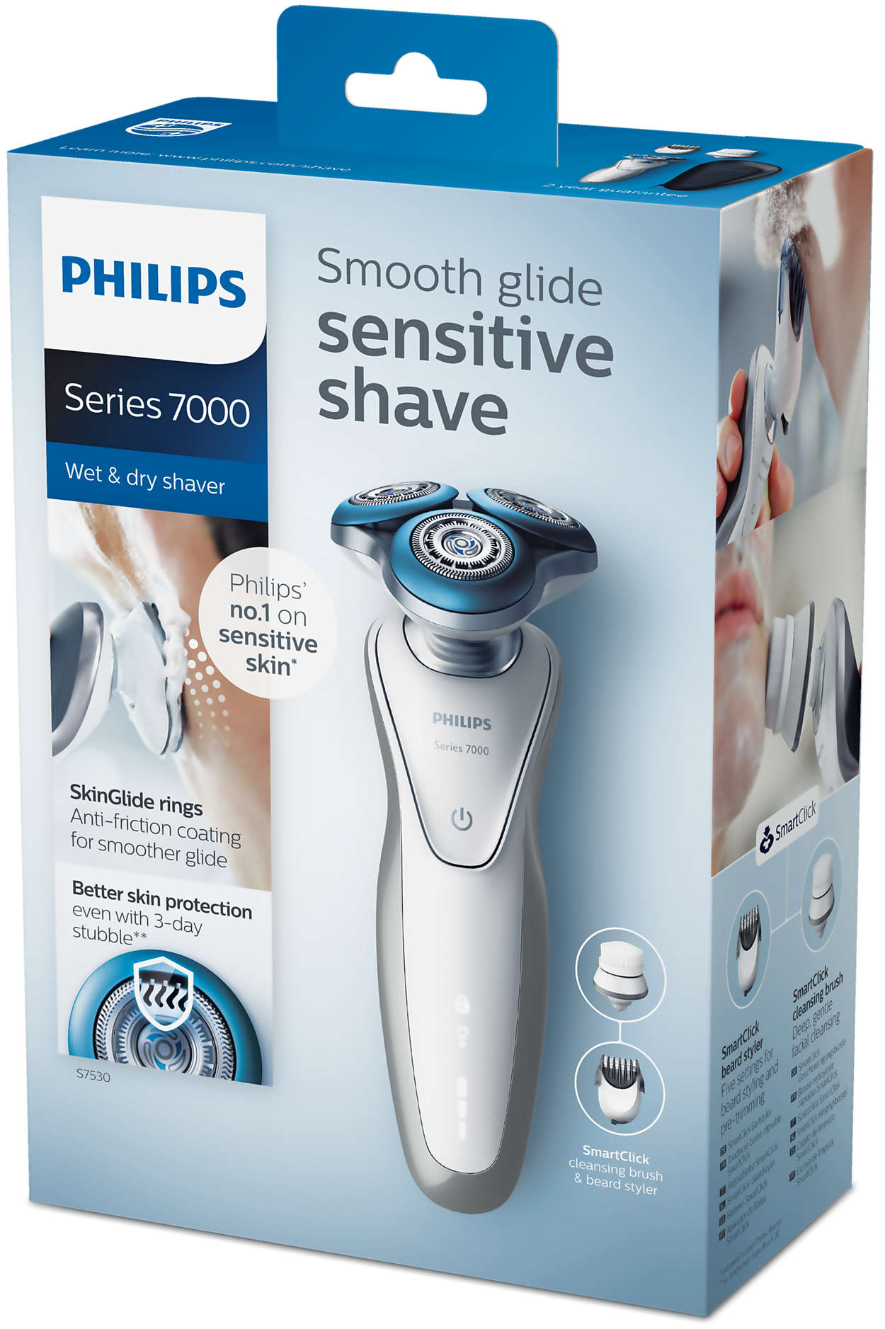 Shaver series 7000 Ηλεκτρική μηχανή για υγρό και στεγνό ξύρισμα ... 992dff01f45