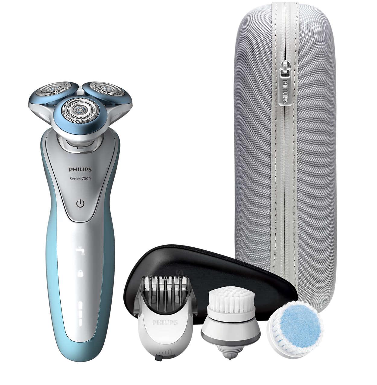 流畅顺滑的剃须体验,提高皮肤舒适度